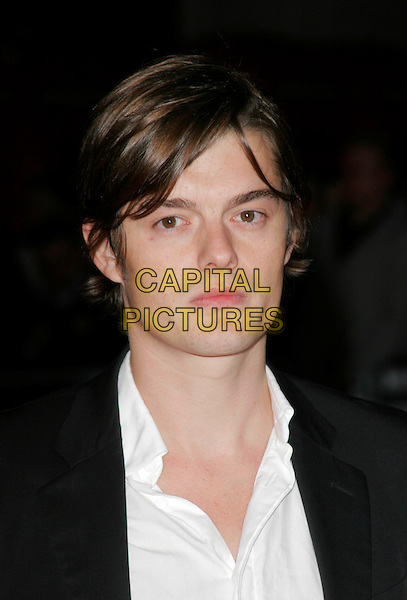"SAM RILEY .Attends the screening of ""Franklyn"" at The Times BFI London Film Festival at Odeon West End, London, England, October 16, 2008..portrait headshot white shirt .CAP/AH.©Adam Houghton/Capital Pictures"