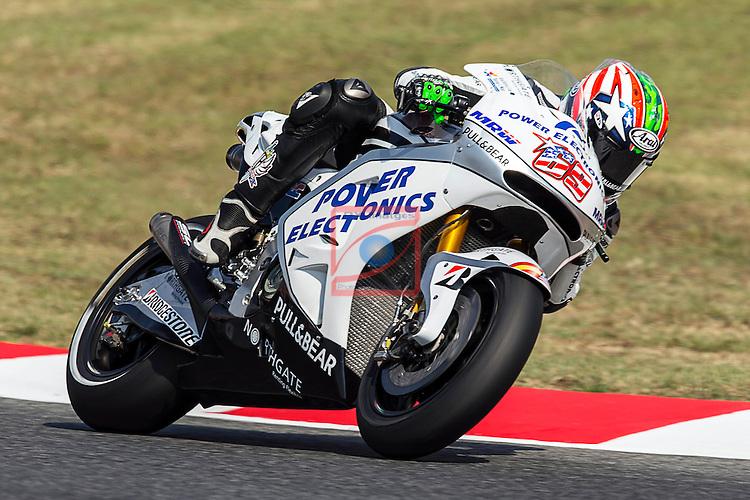 Gran Premi Aperol de Catalunya de Moto GP.<br /> Moto GP Saturday Qualifying.<br /> Nicky Hayden.
