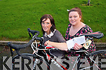 Home from Home after school service are giving one last chance for people to buy tickets to win Taoiseach Enda Kenny's bike to help raise funds for the respite service. .L-R Helena Fox (Manager of the after school service) and Denise Lucey (Childcare worker)