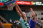 Basketball Champions League 2017/18 - Previus.<br /> Divina Seguros Joventut vs Dinamo Tbilisi: 86-66.<br /> Jerome Jordan vs Kiel Turpin.