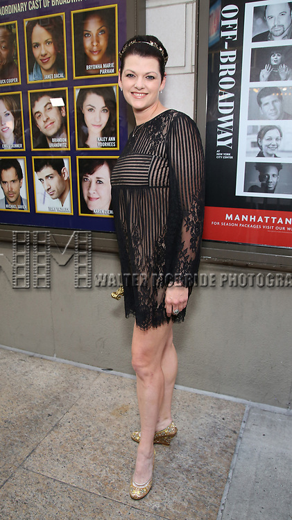 Kate Shindle attends the Broadway Opening Night performance of 'The Prince of Broadway' at the Samuel J. Friedman Theatre on August 24, 2017 in New York City.