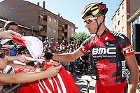 Philippe Gilbert before the stage of La Vuelta 2012 between La Robla and Lagos de Covadonga.September 2,2012. (ALTERPHOTOS/Acero) /NortePhoto.com<br /> <br /> **CREDITO*OBLIGATORIO** <br /> *No*Venta*A*Terceros*<br /> *No*Sale*So*third*<br /> *** No*Se*Permite*Hacer*Archivo**<br /> *No*Sale*So*third*