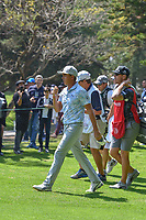 Rickie Fowler (USA) departs the 2nd tee during round 3 of the World Golf Championships, Mexico, Club De Golf Chapultepec, Mexico City, Mexico. 3/3/2018.<br /> Picture: Golffile | Ken Murray<br /> <br /> <br /> All photo usage must carry mandatory copyright credit (&copy; Golffile | Ken Murray)