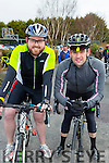 Shane O'Sullivan Caherciveen and Alan Jones Milltown at the cycle in Killorglin on Saturday