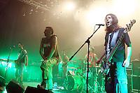 Konzert von The Locos beim Raiffeisen Indoor Festival 2011 in Disentis