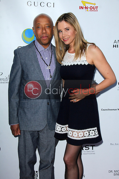 Russell Simmons, Mira Sorvino<br />