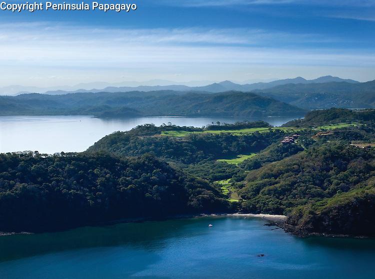 Beach Golf Course Aerial Peninsula Papagayo