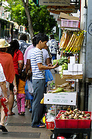 Chinatown's many stores and markets offer local and foriegn shoppers a wide variety of exotic foods and souvenirs. Located amidst the streets of downtown Honolulu.
