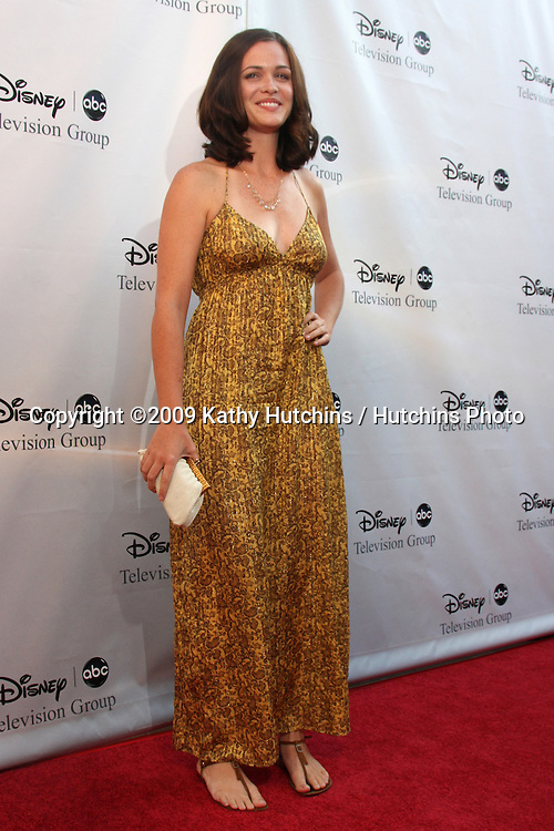 Christine Woods arriving at the ABC TV TCA Party at The Langham Huntington Hotel & Spa in Pasadena, CA  on August 8, 2009 .©2009 Kathy Hutchins / Hutchins Photo..