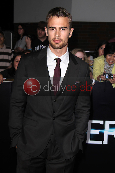 """Theo James<br /> at the """"Divergent"""" Los Angeles Premiere, Regency Bruin Theatre, Westwood, CA 03-18-14<br /> Dave Edwards/DailyCeleb.com 818-249-4998"""