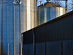 Large grain storage containers