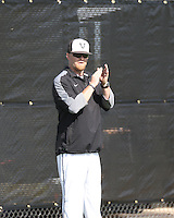 Vandegrift head baseball coach Allen McGee.