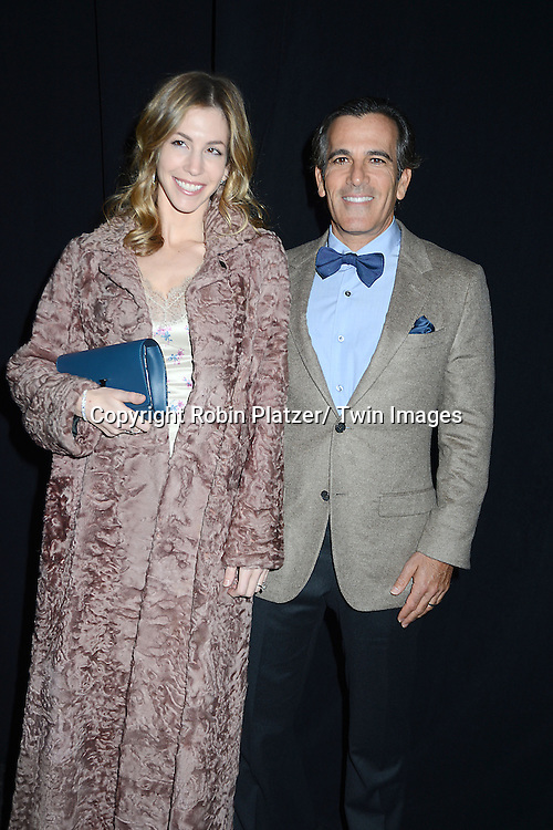 Jill and Darius Bikoff attend the 2013 Whitney Gala & Studio party honoring artist Ed Ruscha on October 23, 2013 at Skylight at Moynihan Station in New York City.