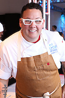 LOS ANGELES, CA, USA - MARCH 23: Graham Elliot at the All-Star Chef Classic - Savor The Season Presented By Melissa's Produce held at L.A. Live on March 23, 2014 in Los Angeles, California, United States. (Photo by David Acosta/Celebrity Monitor)