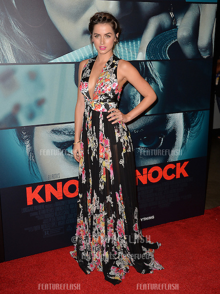 Actress Ana de Armas at the Los Angeles premiere of her movie &quot;Knock Knock&quot; at the TCL Chinese Theatre, Hollywood.<br /> October 7, 2015  Los Angeles, CA<br /> Picture: Paul Smith / Featureflash