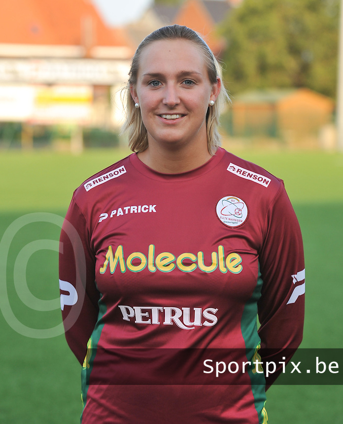 SV Dames Zulte Waregem : Celine Decock.foto DAVID CATRY / Vrouwenteam.be