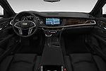 Stock photo of straight dashboard view of 2017 Cadillac CT6 RWD 4 Door Sedan Dashboard