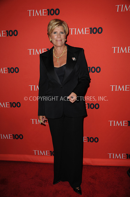 WWW.ACEPIXS.COM . . . . .....May 5, 2009 New York City....Suze Orman attends Time's 100 Most Influential People in the World Gala at the Frederick P. Rose Hall at Jazz at Lincoln Center on May 5, 2009 in New York City...  ....Please byline: Kristin Callahan - ACEPIXS.COM..... *** ***..Ace Pictures, Inc:  ..Philip Vaughan (646) 769 0430..e-mail: info@acepixs.com..web: http://www.acepixs.com