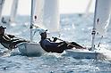 Ian Hall, FEBURARY 12, 2012 - Sailing : 2012 Int Laser Class Japan National team and the World Championship team selection race, at Hayama, Kanagawa, Japan. ..(Photo by Atsushi Tomura/AFLO SPORT) [1035]