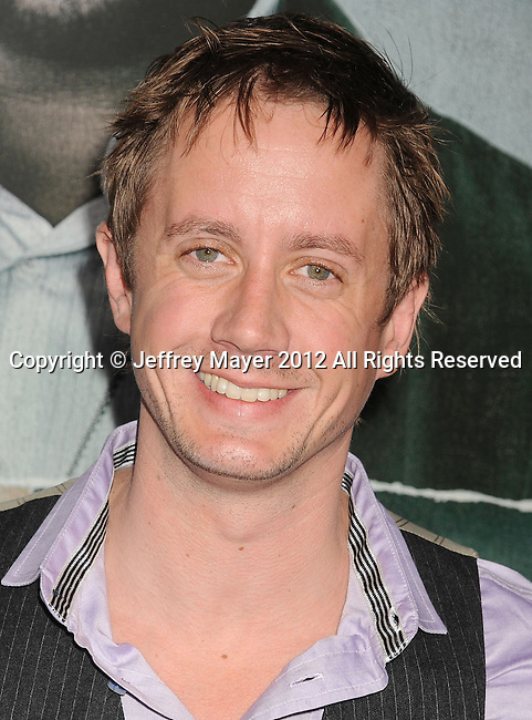 HOLLYWOOD, CA - OCTOBER 15: Chad Lindberg arrives at the Los Angeles premiere of 'Alex Cross' at the ArcLight Cinemas Cinerama Dome on October 15, 2012 in Hollywood, California.