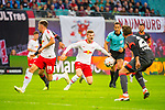 07.10.2018, Red Bull Arena, Leipzig, GER, 1. FBL 2018/2019, RB Leipzig vs. 1. FC N&uuml;rnberg/Nuernberg,<br /> <br /> DFL REGULATIONS PROHIBIT ANY USE OF PHOTOGRAPHS AS IMAGE SEQUENCES AND/OR QUASI-VIDEO.<br /> <br /> im Bild<br /> <br /> <br /> Timo Werner (#11, RB Leipzig), <br /> <br /> Foto &copy; nordphoto / Dostmann