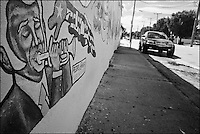 "From ""Miami in Black and White"" series. Little Havana, 2009"