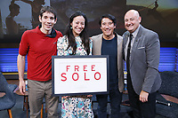 """10/2/18 - Washington: Premiere of National Geographic's Documentary """"Free Solo"""""""