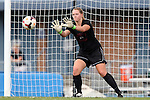 24 August 2014: Ohio State's Sarah Peplinski. The University of North Carolina Tar Heels hosted the Ohio State University Buckeyes at Fetzer Field in Chapel Hill, NC in a 2014 NCAA Division I Women's Soccer match. UNC won the game 1-0.