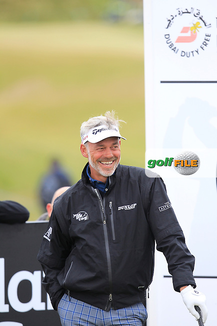 Darren CLARKE (NIR)  during the Pro-Am of the 2015 Dubai Duty Free Irish Open, Royal County Down Golf Club, Newcastle Co Down, Northern Ireland. 27/05/2015<br /> Picture Thos Caffrey, www.golffile.ie
