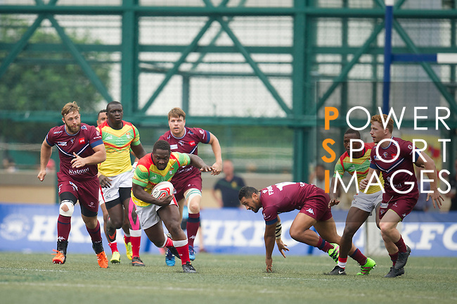UBB Gavekal VS GFI East Africans  GFI HKFC Rugby Tens 2016 on 07 April 2016 at Hong Kong Football Club in Hong Kong, China. Photo by Juan Manuel Serrano / Power Sport Images