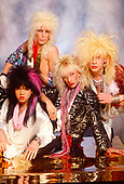 1987: TIGERTAILZ - Photosession in London