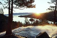 Sunrise, Emerald Bay, Emerald Creek, Lake Tahoe, California