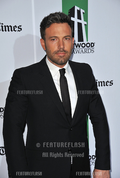 Ben Affleck at the 16th Annual Hollywood Film Awards at the Beverly Hilton Hotel..October 22, 2012  Beverly Hills, CA.Picture: Paul Smith / Featureflash