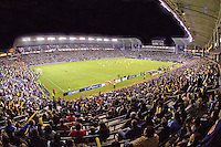 A packed house during MLS Western Conference Final at Home Depot Center stadium. The LA Galaxy defeated the Houston Dynamo 2-1 to win the MLS Western Conference Final at Home Depot Center stadium in Carson, California on Friday November 13, 2009.....