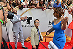 CORAL GABLES, FL - APRIL 28: Juan Manuel Cortez, Jonael Santiag and Cynthia Bague arrives at the Billboard Latin Music Awards at the BanKUnited Center on Thursday April 28, 2016 in Miami, Florida.  ( Photo by Johnny Louis / jlnphotography.com )