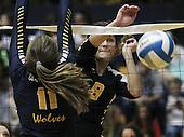 Clarkston at Oxford, Varsity Volleyball, 10/13/15