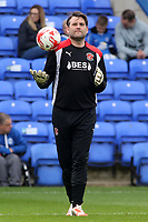 Fleetwood Town goalkeeping coach David Lucas during the pre-match warm-up <br /> <br /> Photographer David Shipman/CameraSport<br /> <br /> The EFL Sky Bet League One - Peterborough United v Fleetwood Town - Friday 14th April 2016 - ABAX Stadium  - Peterborough<br /> <br /> World Copyright &copy; 2017 CameraSport. All rights reserved. 43 Linden Ave. Countesthorpe. Leicester. England. LE8 5PG - Tel: +44 (0) 116 277 4147 - admin@camerasport.com - www.camerasport.com
