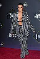 SANTA MONICA, USA. November 11, 2019: Kourtney Kardashian at the 2019 E! People's Choice Awards at Santa Monica Barker Hangar.<br /> Picture: Paul Smith/Featureflash