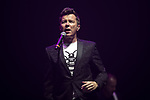 © Joel Goodman - 07973 332324 . No Editorial syndictaion permitted . 09/09/2017. Manchester , UK . Rick Astley perhaps . We Are Manchester reopening charity concert at the Manchester Arena with performances by Manchester artists including  Noel Gallagher , Courteeners , Blossoms and the poet Tony Walsh . The Arena has been closed since 22nd May 2017 , after Salman Abedi's terrorist attack at an Ariana Grande concert killed 22 and injured 250 . Money raised will go towards the victims of the bombing . Photo credit : Joel Goodman