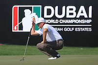 Ernie Els (RSA) on the final day of the DUBAI WORLD CHAMPIONSHIP presented by DP World, Jumeirah Golf Estates, Dubai, United Arab Emirates.Picture Denise Cleary www.golffile.ie