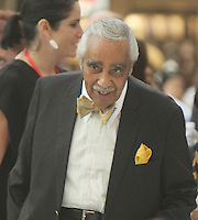 NEW YORK, NY-August 16: Charles Rangel  at  John Legend performance at  the Grand opening of Westfield World Trade Center Mall World Trade Center in New York. August 16, 2016. Credit:RW/MediaPunch