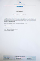 SÃO PAULO, SP - 25.05.2015 - LUCIANO-ANGELICA - Boletim Medico da apresentadora Angelica Ksyvickis Hulk emitido pelo Hospital Albert Einstein, na zona sul de São Paulo, nesta segunda-feira,24. (Foto: Douglas Pingituro / Brazil Photo Press)