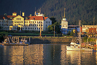Commercial fishing boat, Pioneer Home, Sitka boat harbor, Sitka, Alaska