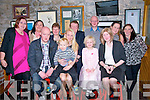 30th Birthday : Stacey Galvin, Listowel celebrating her 30th birthday with family & friends at Behan's Restaurant at the Horseshoe Bar, Listowel on Saturday night last. Front : James & Owen Kenrick, Stacey Galvin, Chloe & Catriona Kenrick. Back : Gemma Mulvihill, Josephine Lynch, Kathleen, Pat & Mike Kenrick, Norma McCarthy & Hazel Stack.