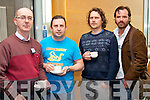 Pictured at the Creative Media Symposium at the IT, Tralee on Friday, from left: Pat Tobin (North Kerry and District Photographic Society), Ger Roche (North Kerry and District Photographic Society), Kitho Faolin and Michael McQuinn..