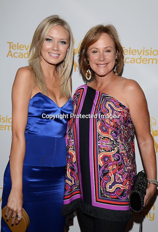 Melissa Ordway &amp; Hillary B Smith arrives at  Academy Of Television Arts &amp; Sciences Daytime Programming  Peer Group Celebration for the 41st Annual Daytime Emmy Awards Nominees party on June 19, 2014  at The London West Hollywood, California.<br /> <br /> photo by Robin Platzer/ Twin Images<br /> <br /> 212-935-0770