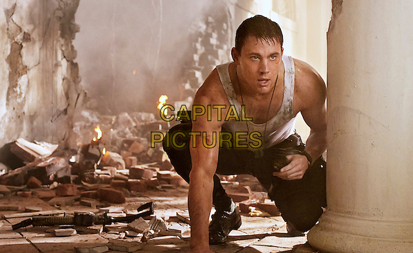 Channing Tatum<br /> in White House Down (2013) <br /> *Filmstill - Editorial Use Only*<br /> CAP/FB<br /> Supplied by Capital Pictures