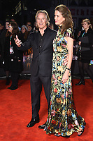 "LONDON, UK. October 08, 2019: Don Johnson & wife Kelley Phleger arriving for the ""Knives Out"" screening as part of the London Film Festival 2019 at the Odeon Leicester Square, London.<br /> Picture: Steve Vas/Featureflash"