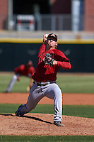 Arizona Diamondbacks pitcher Breckin Williams (19) during an instructional league game against the Los Angeles Angels / Chicago Cubs co-op team on October 9, 2015 at the Tempe Diablo Stadium Complex in Tempe, Arizona.  (Mike Janes/Four Seam Images)
