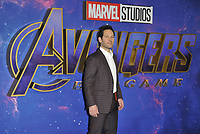 Paul Rudd at the &quot;Avengers: Endgame&quot; UK fan event, Picturehouse Central, Corner of Shaftesbury Avenue and Great Windmill Street, London, England, UK, on Wednesday 10th April 2019.<br /> CAP/CAN<br /> &copy;CAN/Capital Pictures